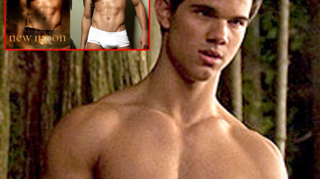 Photo truquée de Taylor Lautner sur l'affiche de Twilight