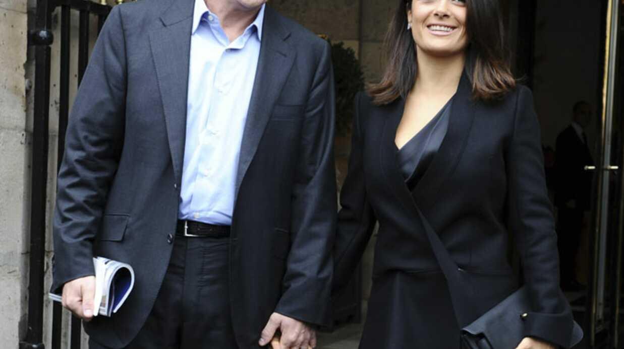 Salma Hayek et François-Henri Pinault amoureux chez Balenciaga