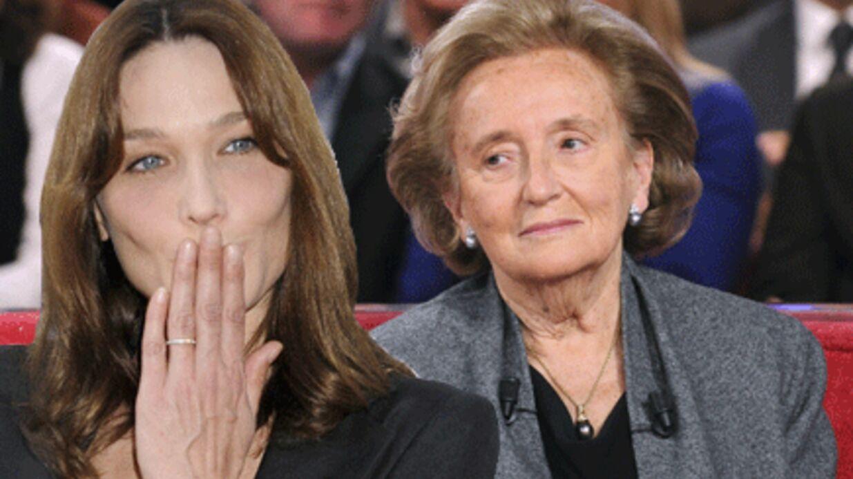 Bernadette Chirac voit régulièrement Carla Bruni