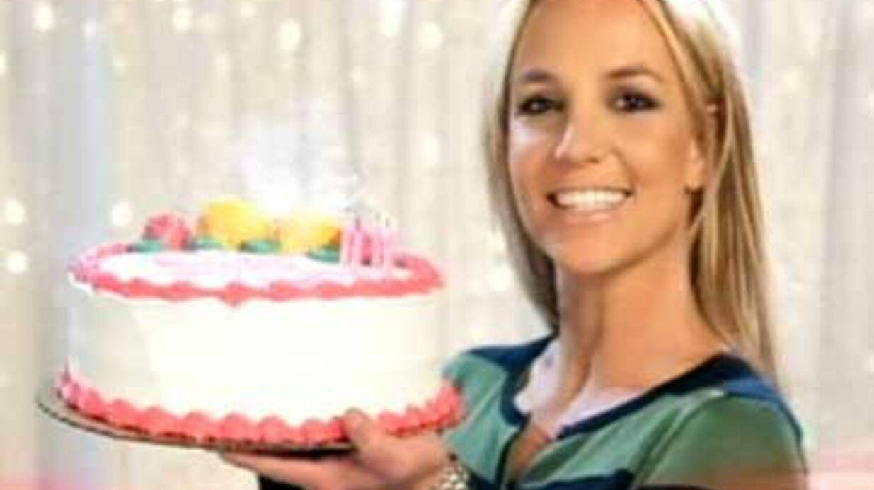 Britney Spears fête ses 28 ans aujourd'hui