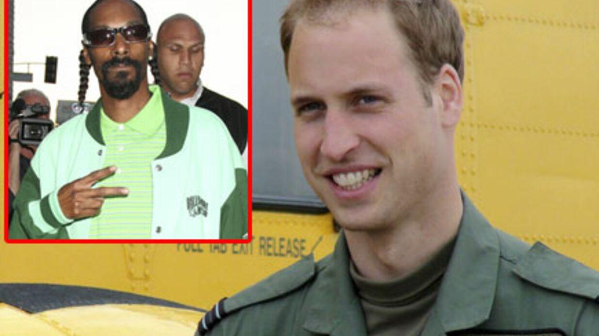 Prince William: Snoop Dogg à son enterrement de vie de garçon