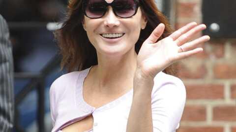 Carla Bruni-Sarkozy menacée par une chanson