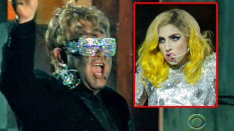 Lady Gaga a pleuré avant de monter sur scène avec Elton John