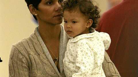 Halle Berry sans maquillage mais avec sa magnifique petite Nahla