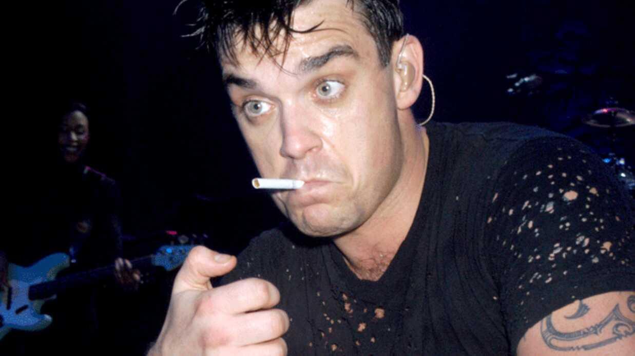 Robbie Williams arrête de fumer pour enfanter