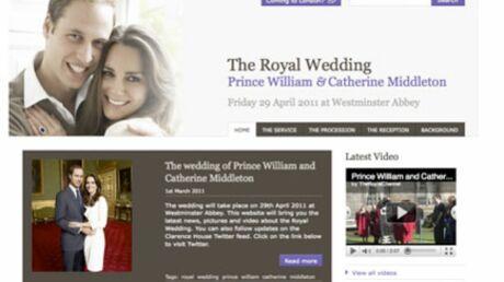 Prince William: lancement du site officiel de son mariage