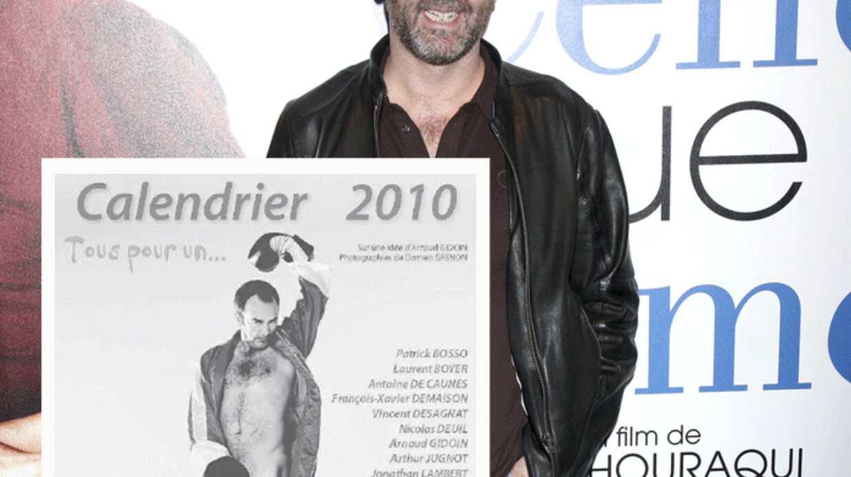 Calendrier 2010: des acteurs et des animateurs nus