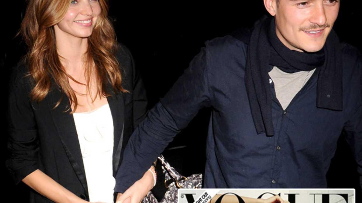 Miranda Kerr et Orlando Bloom attendent leur premier enfant