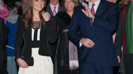 Prince William et Kate Middleton: première apparition publique