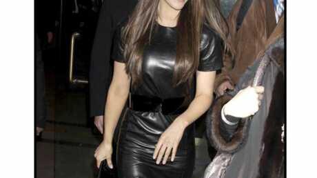 LOOK Kate Beckinsale ultra sexy en cuir
