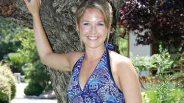 Aurélie Vaneck est maman!