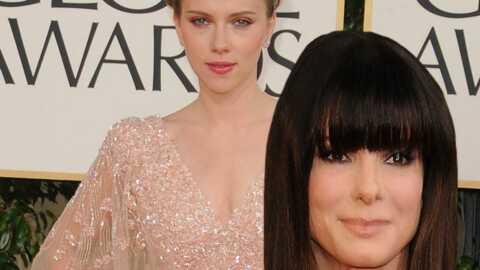 Scarlett Johansson: moment de tendresse avec Sandra Bullock
