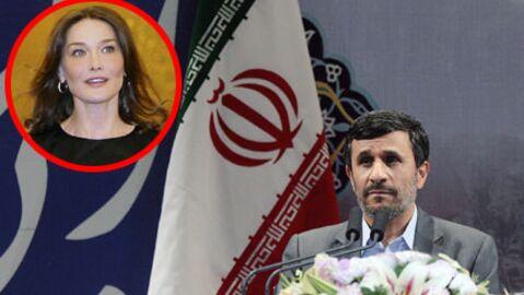 Carla Bruni-Sarkozy: les excuses de l'Iran