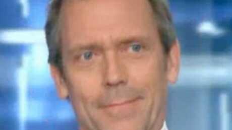 VIDEO Hugh Laurie au 20 heures de Laurence Ferrari