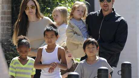 PHOTOS Angelina Jolie et Brad Pitt en famille en Louisiane