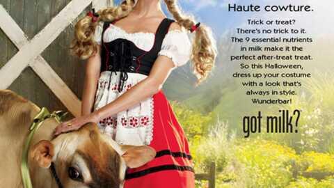 Heidi Klum se met en danger dans une publicité
