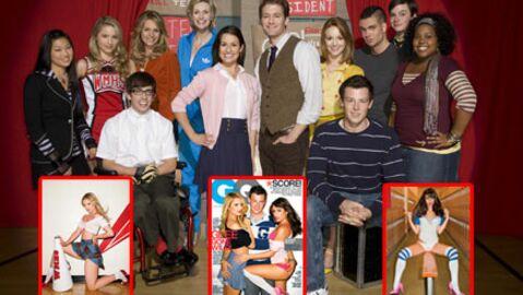 Glee: des photos sexy font scandale aux Etats-Unis