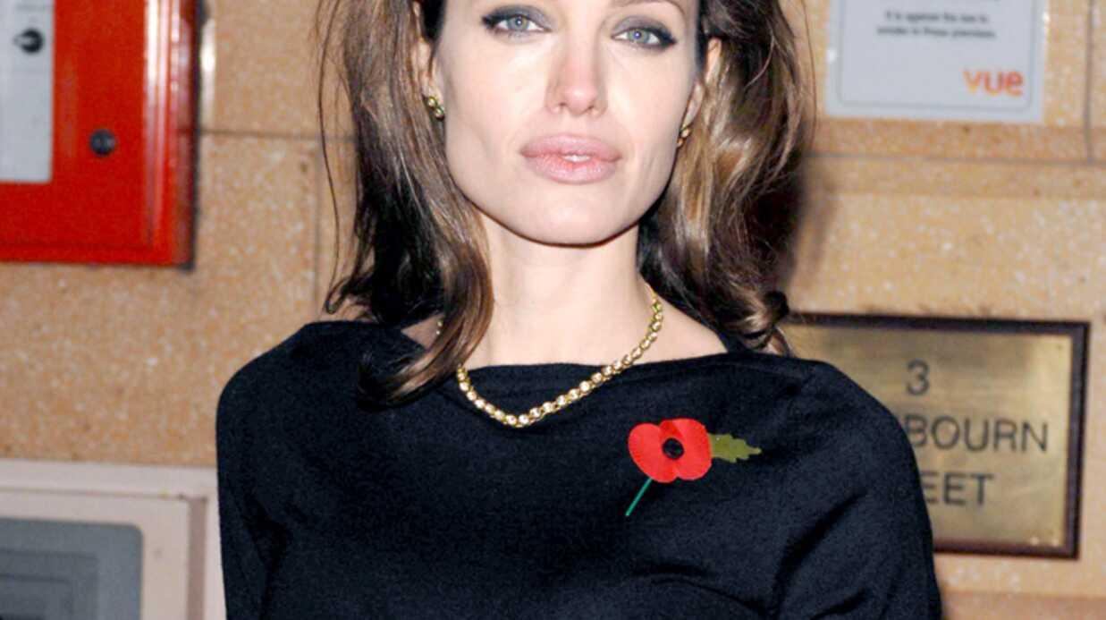 Angelina Jolie Un joli glaçon