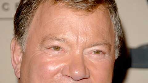 William Shatner Le Captain Kirk fait la tête !