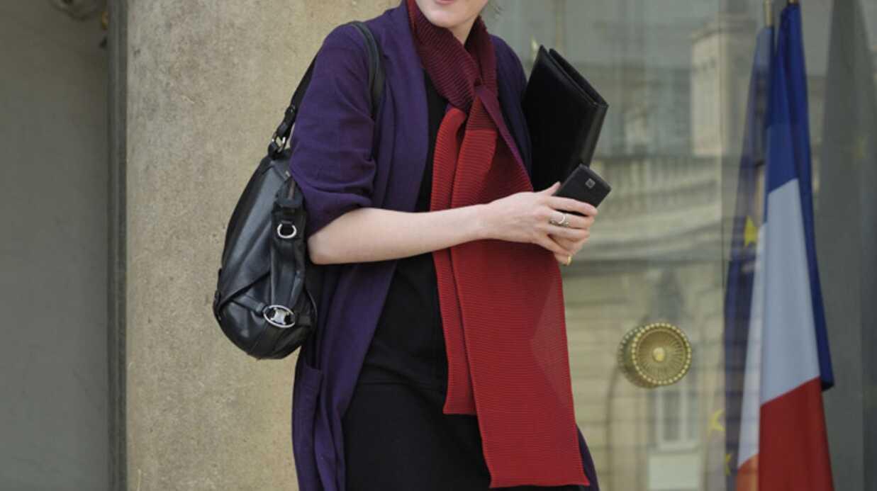 Nathalie Kosciusko-Morizet enceinte et radieuse