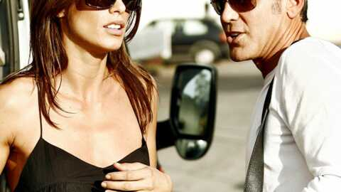 PHOTOS George Clooney et Elisabetta Canalis en bikini à la plage