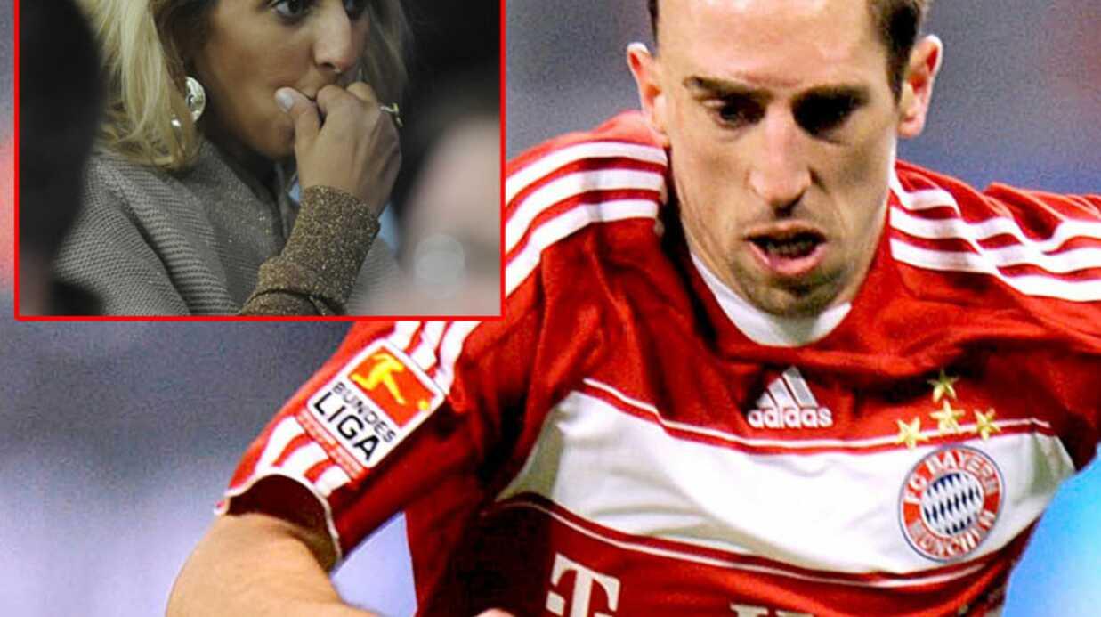 Franck Ribéry: sa femme Wahiba présente à ses côtés
