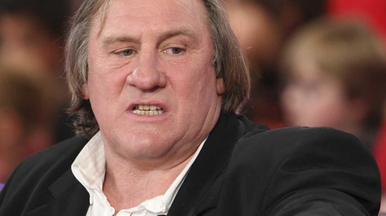 Gérard Depardieu fracasse une voiture en plein Paris