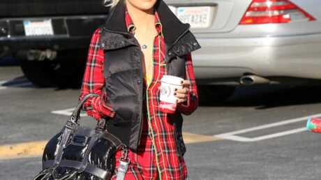 LOOK Christina Aguilera son style décontracté