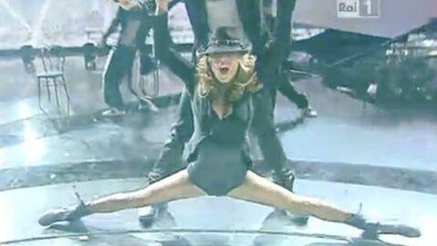 VIDEO Elisabetta Canalis: la danse sexy de miss Clooney