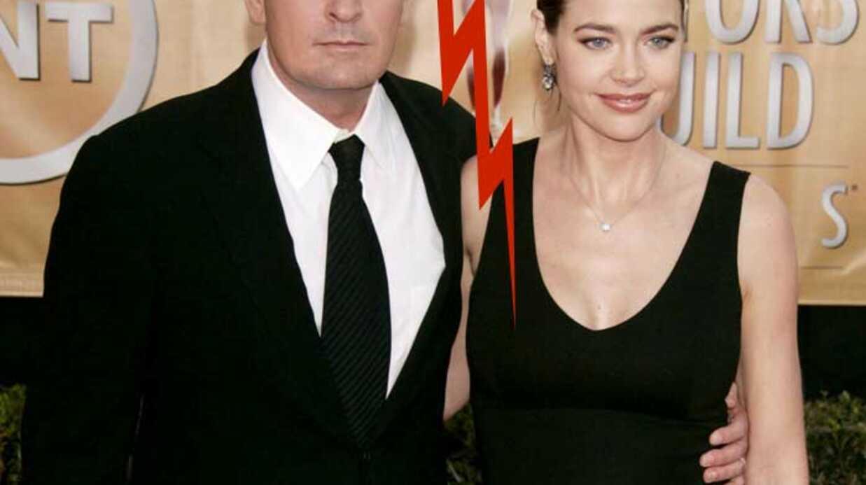 Charlie Sheen et Denise Richards Lamentables