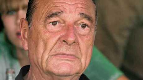 Jacques Chirac a été mordu par son chien Sumo