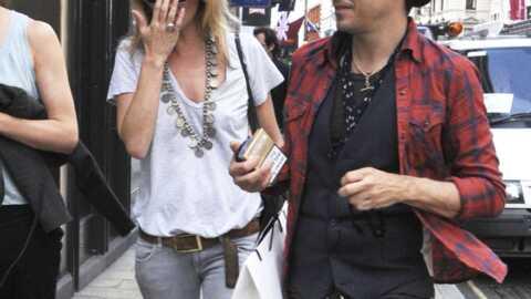 Kate Moss est retournée dans les bras de son ex Jamie Hince