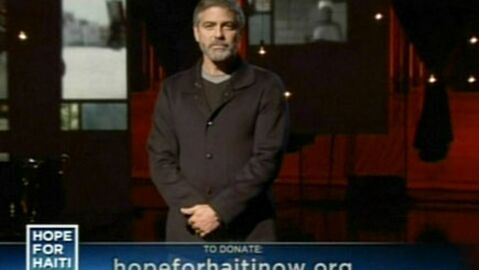 George Clooney distingué pour son engagement humanitaire