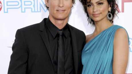 Matthew McConaughey et Camilla attendent un deuxième enfant