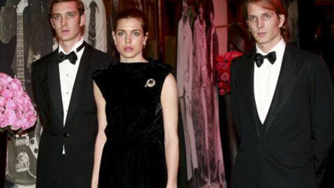 Charlotte Casiraghi et ses frères en deuil au bal de la Rose