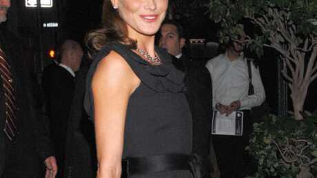Carla Bruni-Sarkozy au mariage de Christophe Barbier