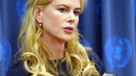 Nicole Kidman Un joli petit ventre