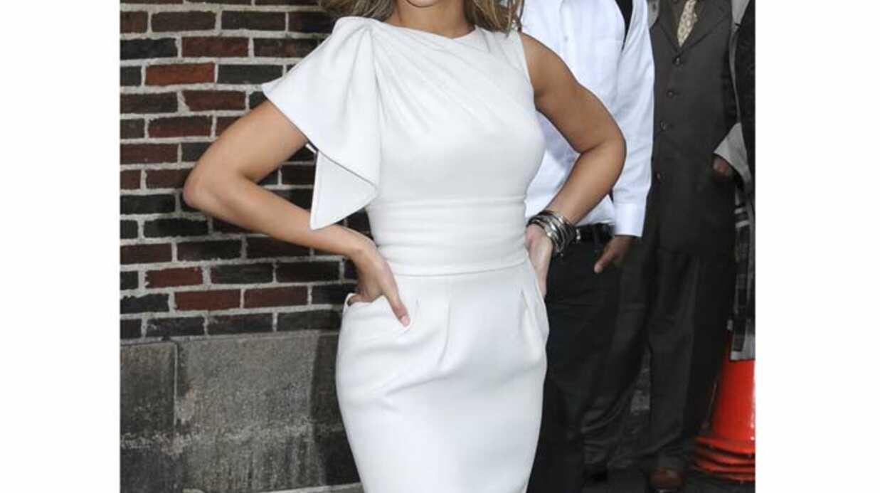 LOOK Beyonce Knowles élégante et printanière