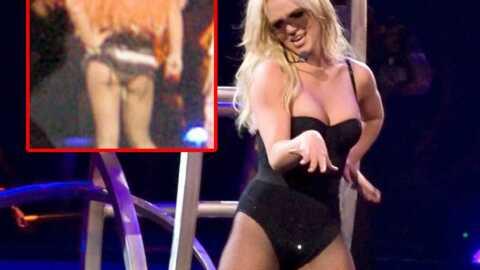 Britney Spears a un problème de tampon sur scène