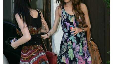 LOOK Lindsay Lohan et ses belles gambettes