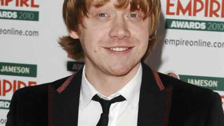 Rupert Grint d'Harry Potter nu devant ses parents