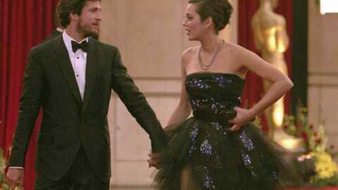 PHOTO EXCLU – Marion Cotillard et Guillaume Canet aux Oscars 2009