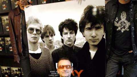U2: leur nouvel album piraté sur Internet