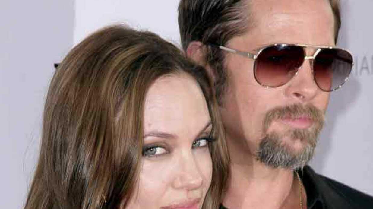 Angelina Jolie et Brad Pitt sont à Paris
