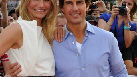 Tom Cruise et Cameron Diaz sur le Tour de France