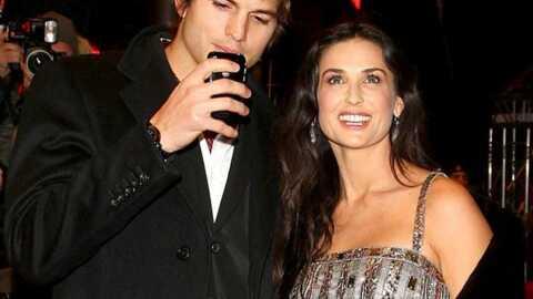 Ashton Kutcher publie des photos des fesses de Demi Moore