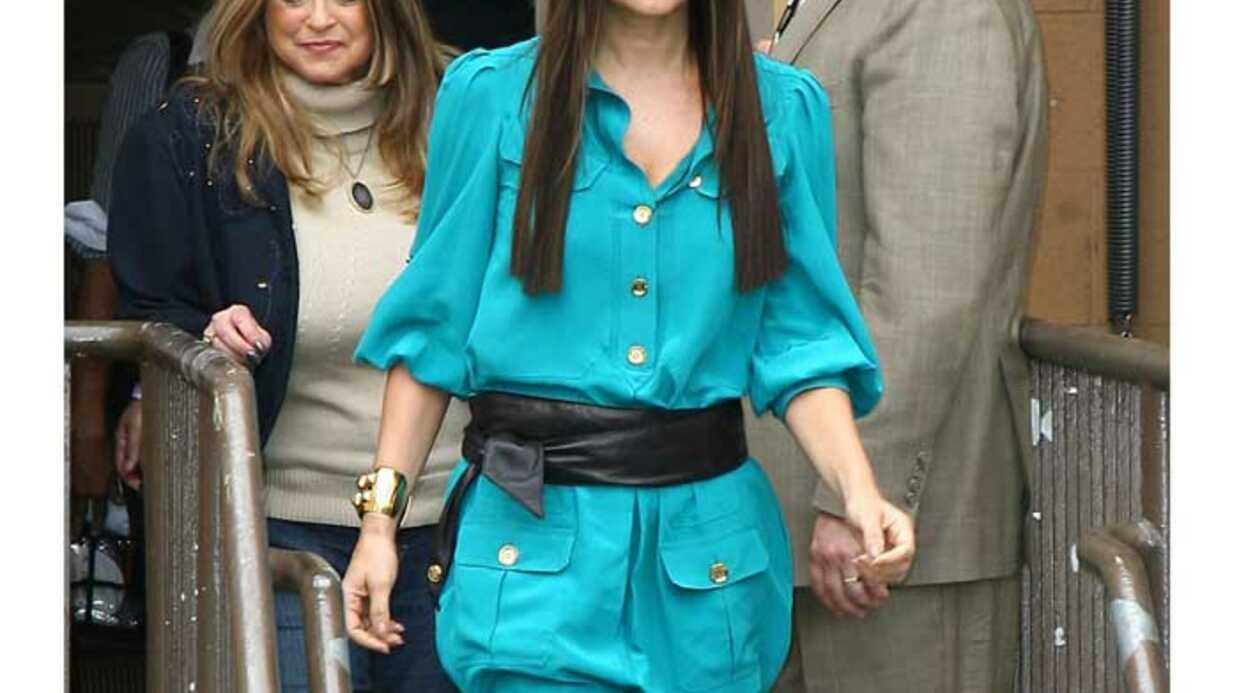 LOOK Fergie a trouvé comment porter la tunique boule