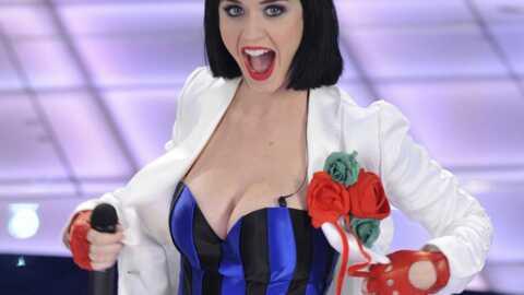 VIDEO Katy Perry: un chimpanzé lui fait pipi dessus
