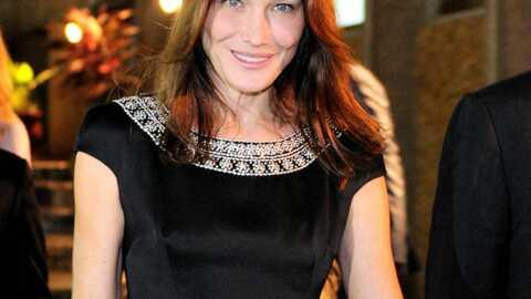 Carla Bruni-Sarkozy affirme gérer tous les aspects de sa vie