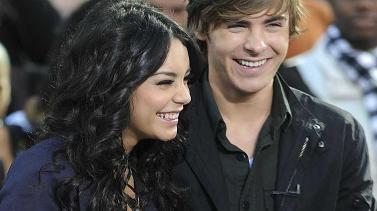 High School Musical 3: Zac Efron embrasse bien d'après Vanessa Hudgens